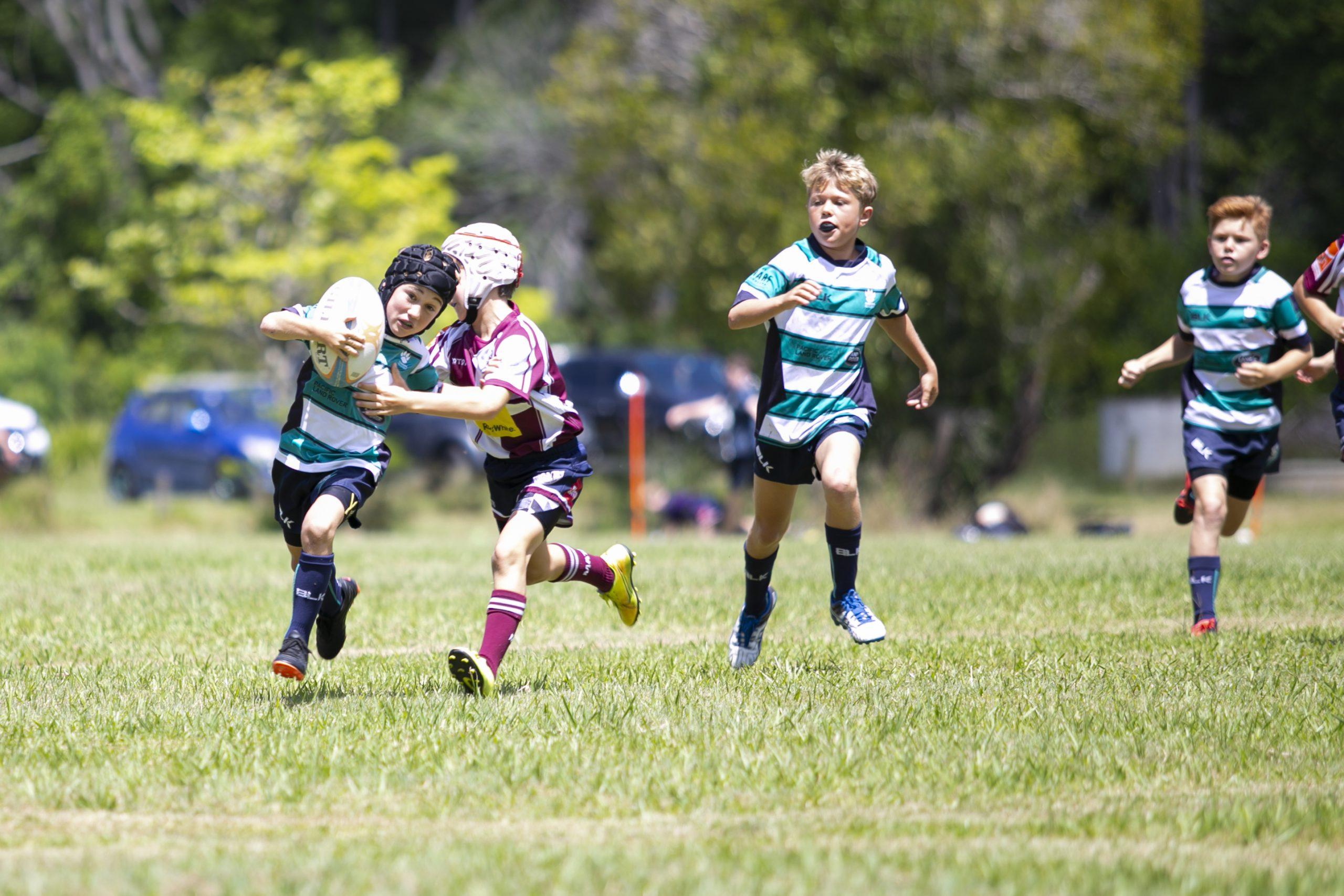 Rugby Tackle Sunshine Coast Flinders